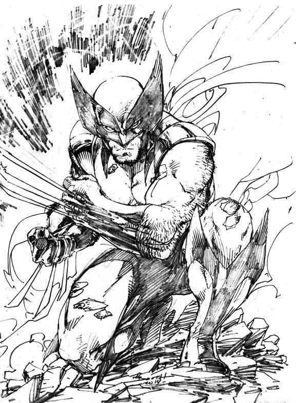Wolverine by Brett Booth