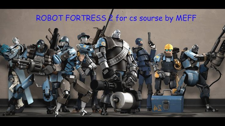 cs sourse team forest 2 robot mod by MEFF