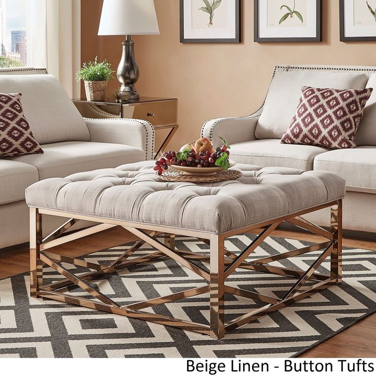 The 25 best Square ottoman coffee table ideas on Pinterest