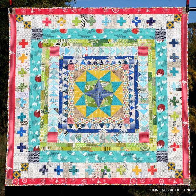160 best Borders for patchwork quilts images on Pinterest ... : patchwork quilt squares - Adamdwight.com