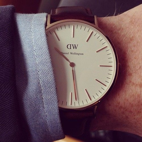 Daniel Wellington men's watch  @ ScottWilkie40