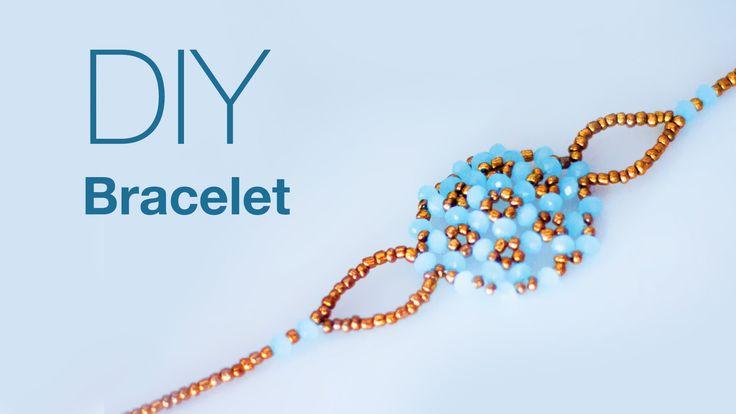 DIY rakhi for Raksha Bandhan, rakhi tutorial ,beads rakhi ,make beautiful rakhi at home, beads art , beads work,rakhi making Bracelet making ,DIY bracelet,ho...