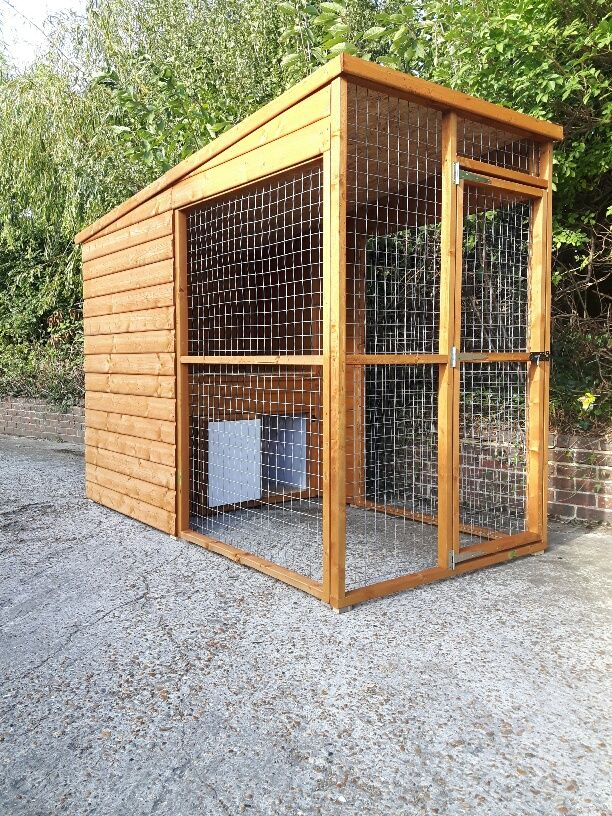 Lincolnshire Insulated Dog Kennel Dog Kennel Dog Kennel Outdoor Wooden Dog Kennels