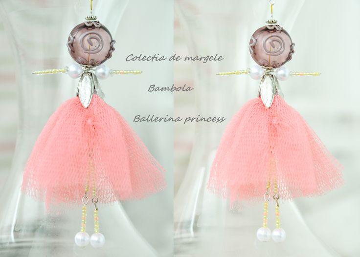 Bambola Ballerina Princess by Colectia de margele  Please visit https://www.facebook.com/pages/Colectia-de-margele/1392796917646011