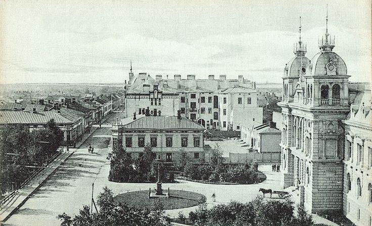 Kirkkokatu Oulu 1900s