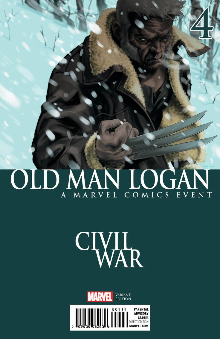 Old Man Logan (Vol. 2)  #4 RI Variant