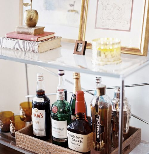 21 Idea To Build A Small Home Bar | Shelterness