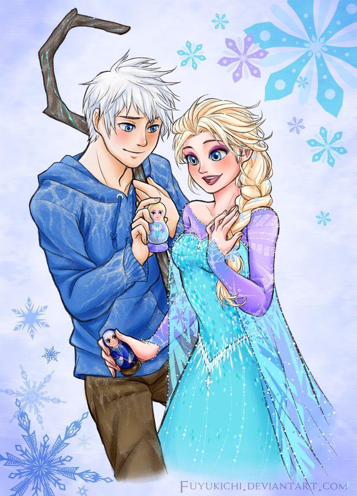 Jack: Diversão e Elsa: Liberdade