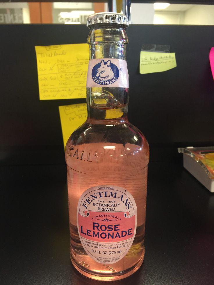 Nerd Food: Rose-Infused Lemonade From Fentimans