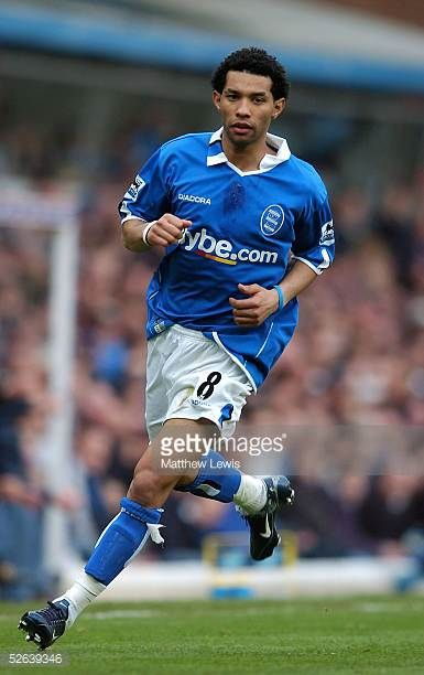 Jermaine Pennant of Birmingham City pictured without his electronic tag during the Barclays Premiership match between Birmingham City and Portsmouth...