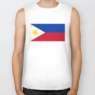 Republic of the Philippines national flag (50% of commission WILL go to help them recover) Biker Tank by LonestarDesigns2020 - Flags Designs + - $28.00
