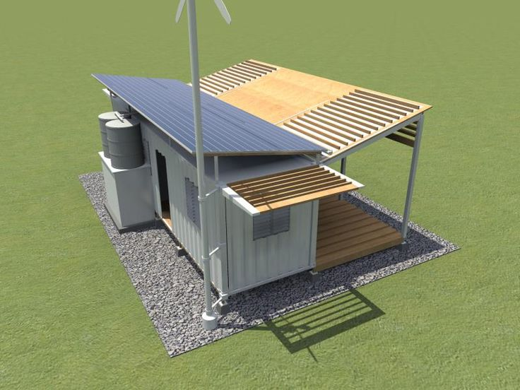 Shipping Container Design for Disaster Relief  - http://www.tinyhouseliving.com/shipping-container-design-disaster-relief/
