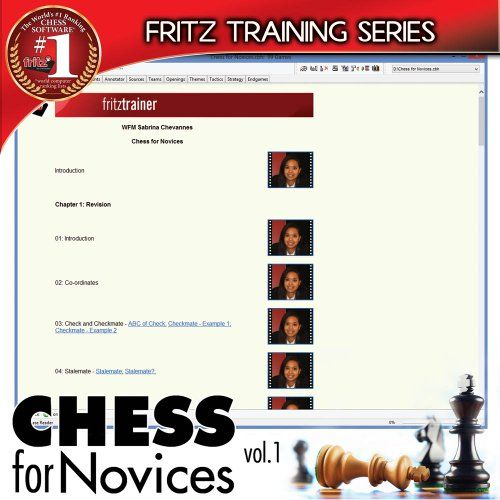 Fritz Chess: Fritz for Fun 13 & Chess for Novices - Volume 1 - Deluxe Edition