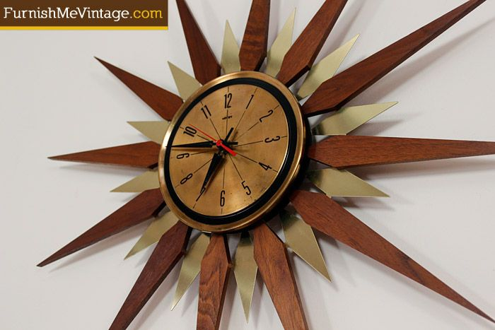22 Best Mid Century Wall Clocks Images On Pinterest Wall