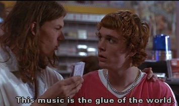 ALL music is the glue of the world, Eddie
