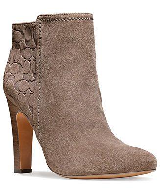 COACH HANNIE BOOTIE - Shoes - Macy's