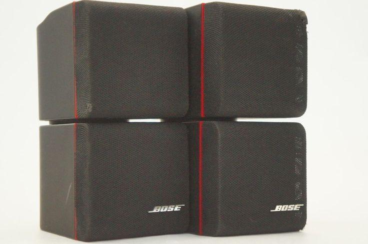 bose double cube speakers. two black bose redline double cube speakers pair tested lifestyle acoustimass   högtalare, svart och livsstil