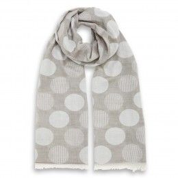 Dotted Soft Stole Beige