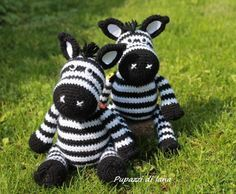 zebra amigurumi schema gratuito