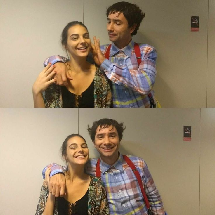 Escolinha do Professor Raimundo - Stand In dos atores Bruno Mazzeo e Ellen Rocche.