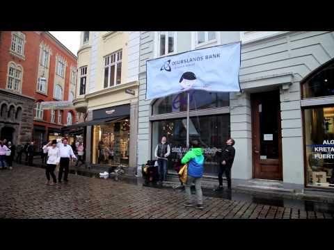 Et sundt forhold Djursland Bank Flashmob