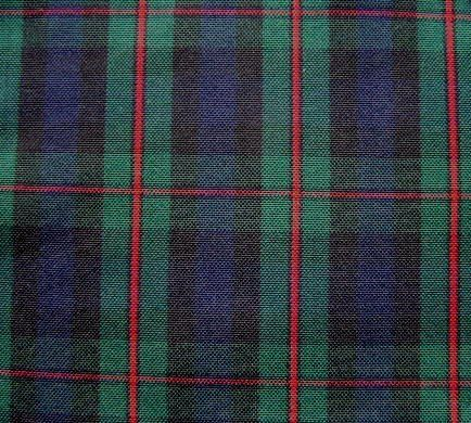 MURRAY ATHOLL TARTAN Navy Green Red Plaid Fabric Upholstery Slipcover Home Decorating Apparel on Etsy, $15.00