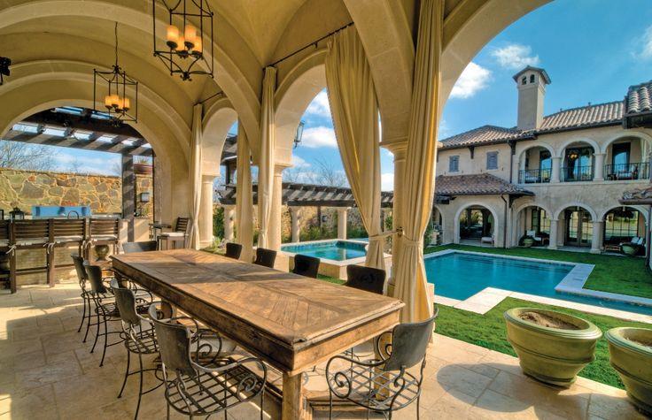 Luxury Mediterranean Homes | To view this home in Luxury Home Magazine | Rick Wegman-HGC Real ...