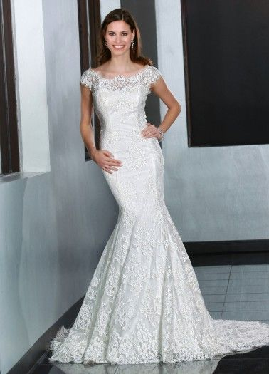 Davinci Wedding Dresses - Style 50195 @weddings and dreams