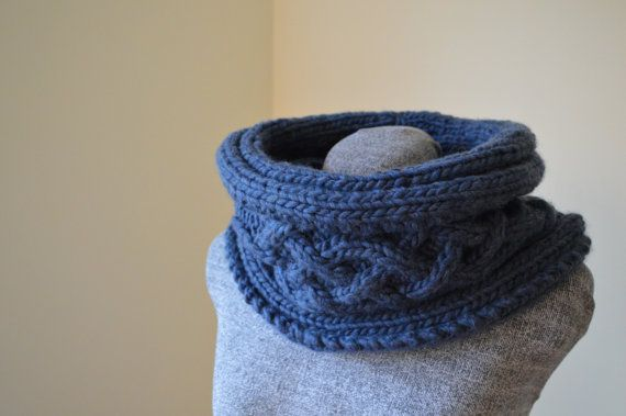 Winter Solstice Cowl by Aase Angoras on Etsy