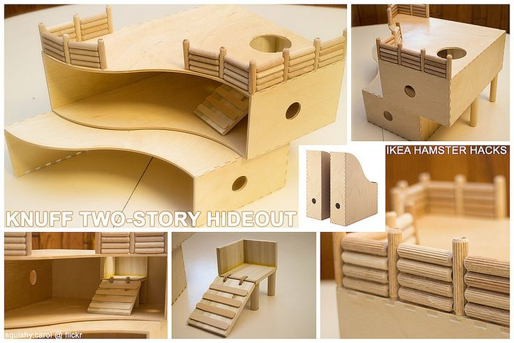 Ikea Hack Knuff Two-Story House | Carol Fang | Flickr