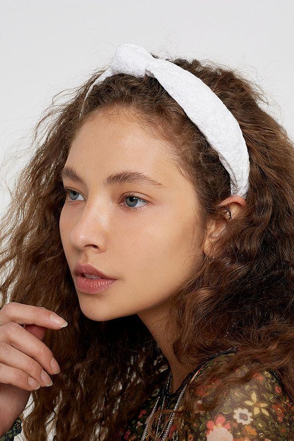 Haarband mit Knotendesign oben