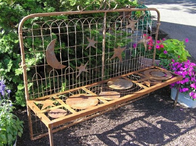 ... Local Garden Show Gathers Green Thumbs : Salvage artist Diane Levensen will display her metal art ...