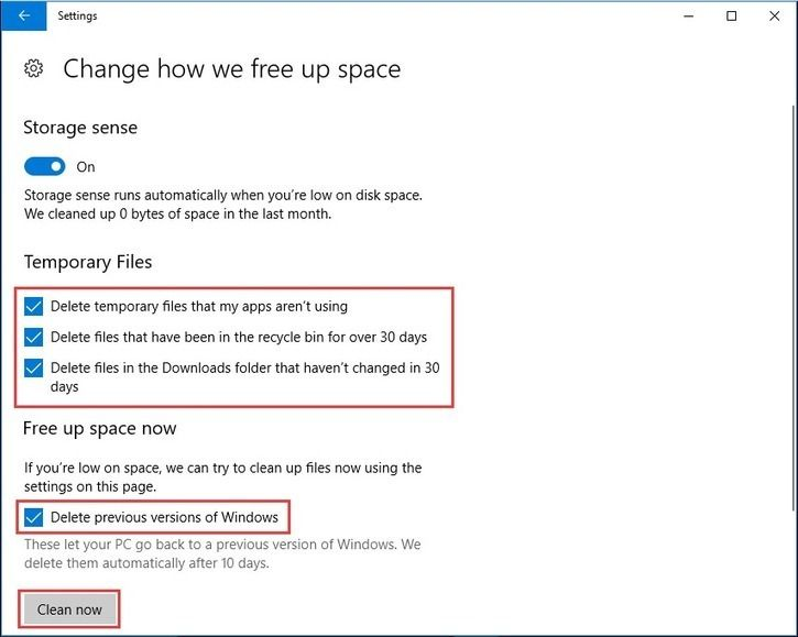 9 Ways To Clean Up Disk Space In Windows 10 1 Is Excellent