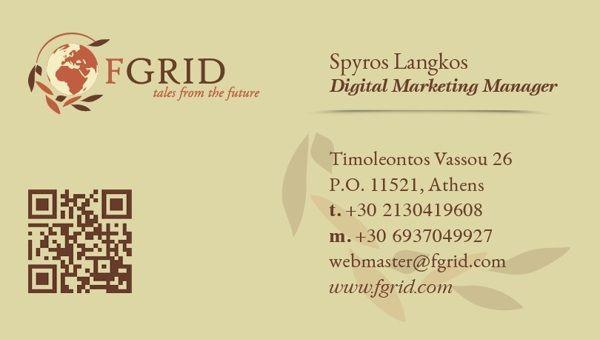 Spyros Langkos - Digital Marketing Manager @ FGRID