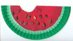 Wild about Watermelons preschool unit from Virtual Vine