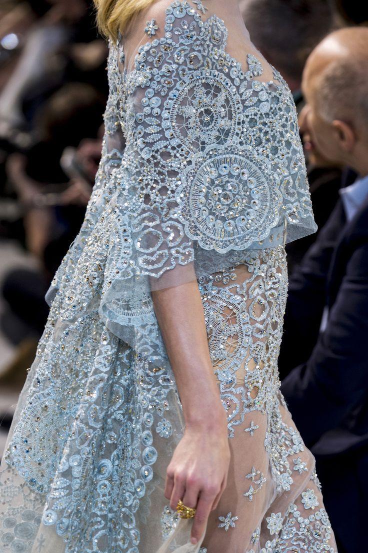 Elie Saab | Spring 2017 Couture #jadealyciainc www.jadealycia.com
