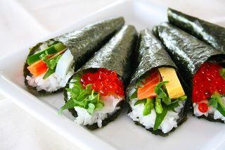 手巻き寿司   temaki-sushi    DIY