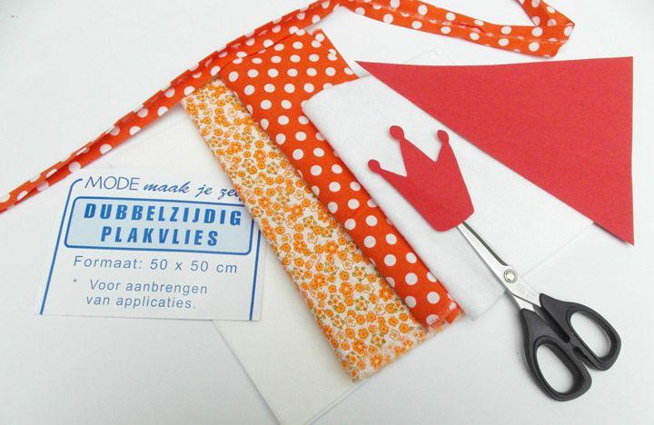 Maak een oranje Koninginnedagslinger! Bekijk de tutorial!  http://nl.dawanda.com/