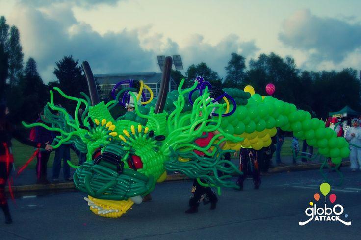 Made in Chile ,Dragon , Carnaval de la Primavera Valdivia