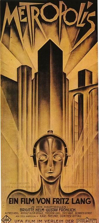 metropolis german expressionism essay German expressionism and fritz lang's metropolis mark robinson metropolis, produced in 1927 in germany, paints a picture of a horribly polarized future society in which the workers toil like cogs in a machine while the rich live a lavish lifestyle in their towers high above the overpopulated city.