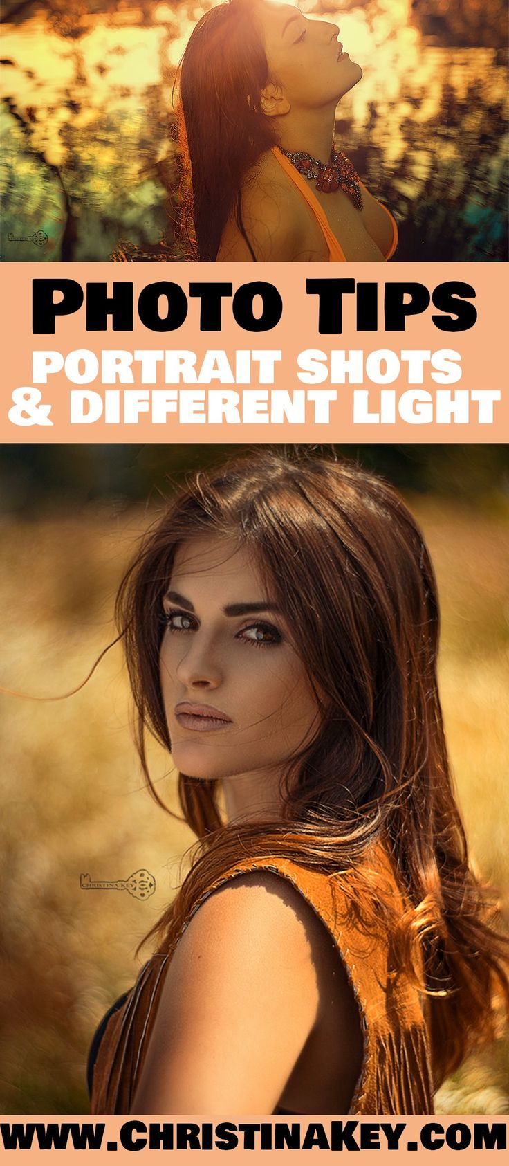 Photography Tips - Different light in portrait photography - Great tips & tricks you should know! Discover now the full article on CHRISTINA KEY - the photography, blogging tips, food, fashion, diy and lifestyle blog from Berlin, Germany