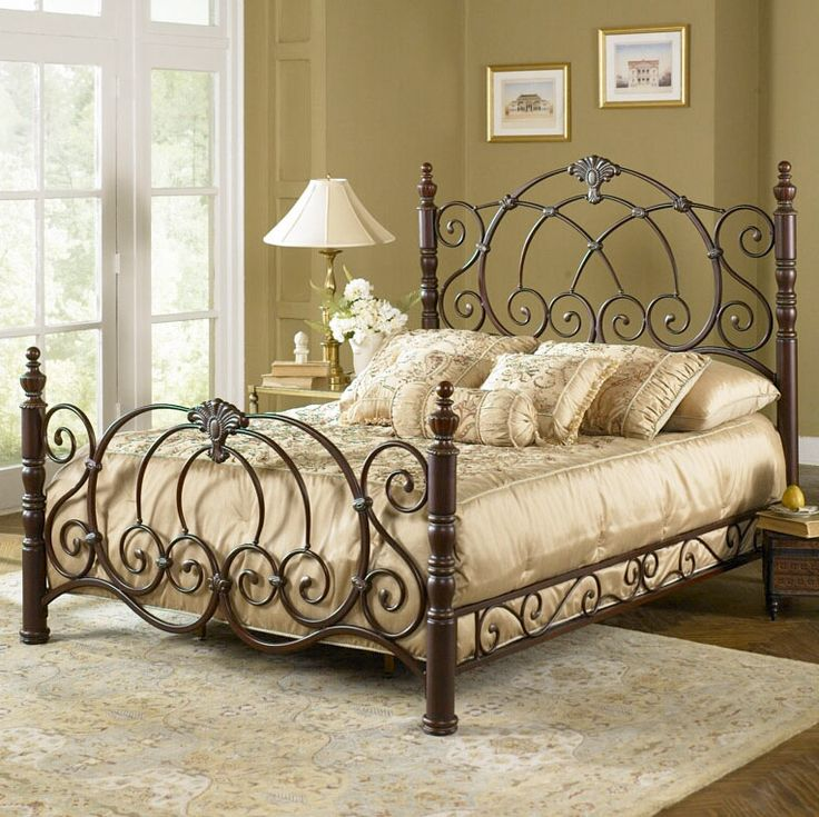 romance the bedroom with a decorative wrought iron bed metal bedsmetal bed framesqueen size