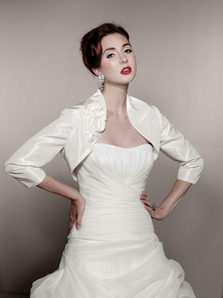 81 best Wedding Dresses Jackets Veils images on Pinterest