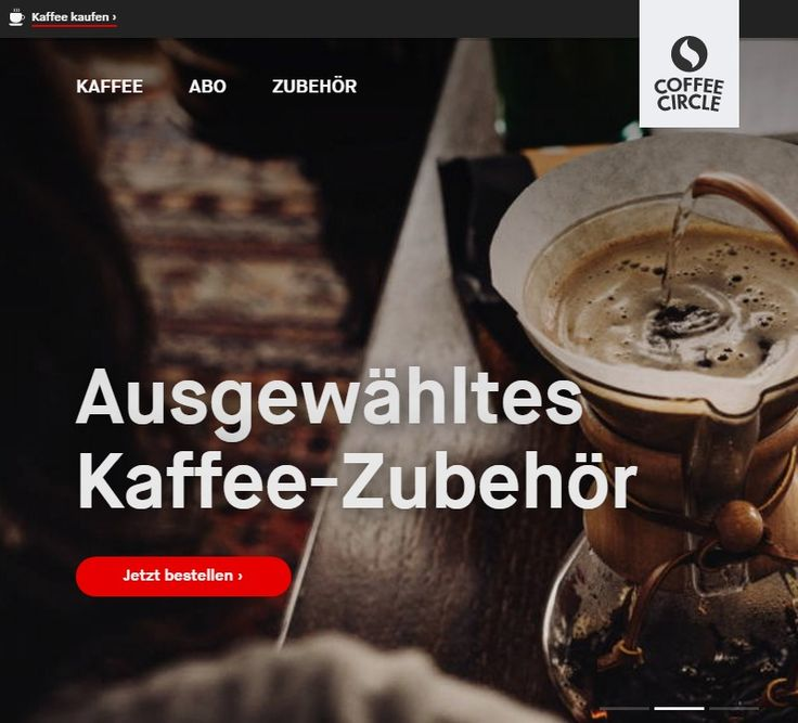 Kaffee online kaufen | Frisch geröstet bei Coffee Circle