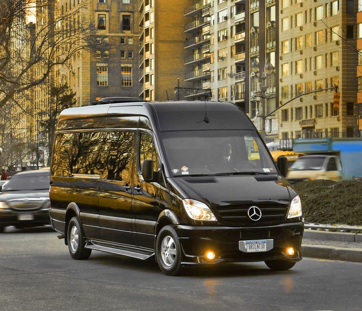 Brilliant Van – Mercedes Benz Sprinter – Front Angle 02