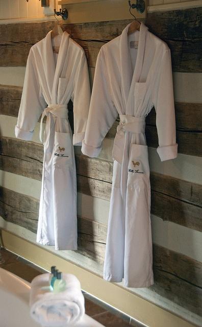 Robes for Burlington's Willis Graves Bed and Breakfast Inn, Kentucky's finest via Flickr www.burligrave.com/