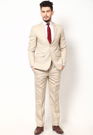 Cream Mens Suit | My Dress Tip