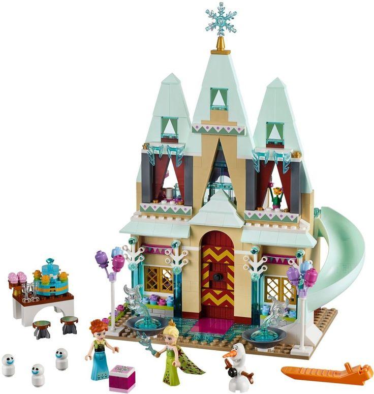 LEGO Het Kasteelfeest in Arendelle 41068 uit thema Disney Princess Frozen. Houd een koninklijk verjaardagsfeest voor Anna op de binnenplaats van het kasteel, met Elsa en Olaf en het prachtig gedetailleerde Lego kasteel uit Disney's Frozen en Frozen Fever. De Leukste LEGO bestel je online bij https://www.olgo.nl