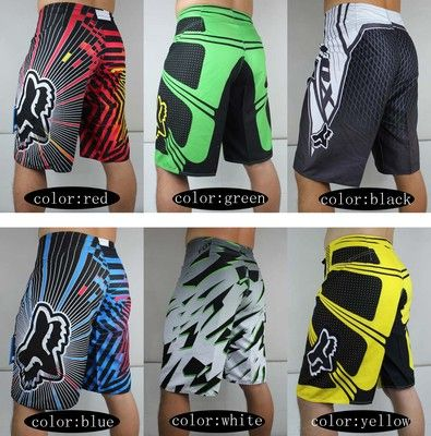 Mens Fox Board Shorts Men Surf Boardshorts Swim Beach