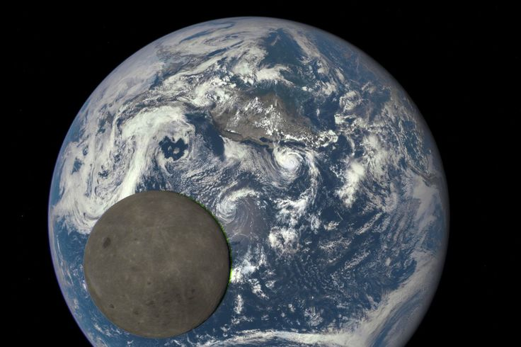 The Moon has made a habit out of photobombing NASA. Last week, while a NASA camera on the Deep Space Climate Observatory (DSCOVR) satellite was trying to observe the atmosphere, the Moon swung in between Earth and DSCOVR for a brief but remarkable shot.